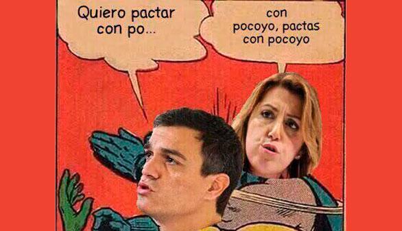Los mejores tuits y memes sobre la candidatura de Sánchez