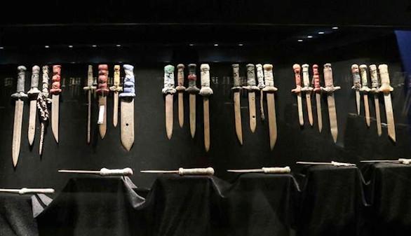 'Takumbú': cuando mil cuchillos se transforman en piezas de museo