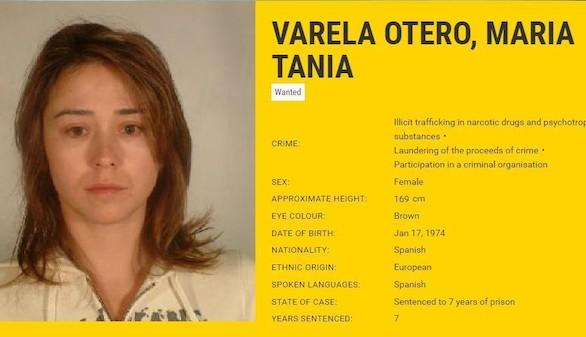 Detenida la narcotraficante del clan Oubiña más buscada por Europol