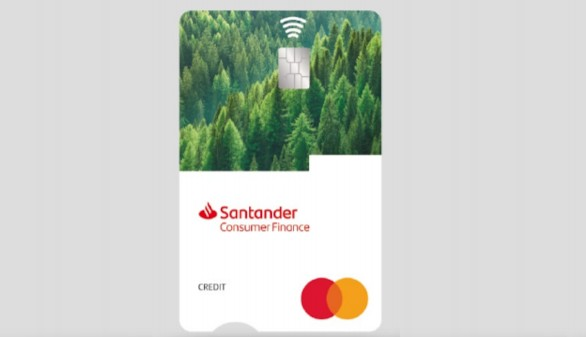 Santander Consumer lanza la Tarjeta ECO, fabricada con materiales 100% biodegradables