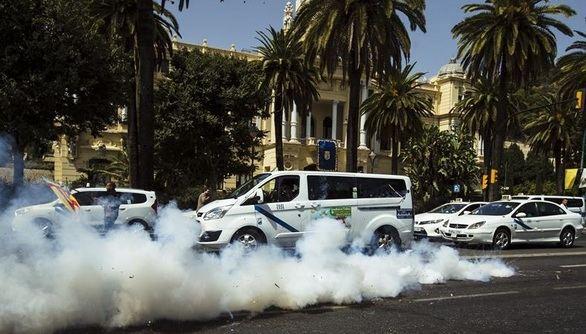 Daños a vehículos de Cabify en Málaga