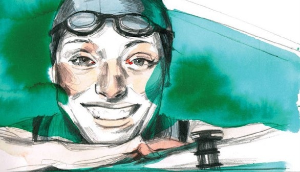 La Fundación Telefónica presenta el cómic de la nadadora Teresa Perales