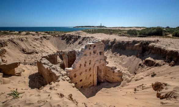 Encuentran en la costa de Cádiz unas termas romanas excepcionalmente conservadas