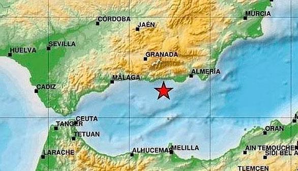 Otro terremoto en el mar de Alborán sacude el sur de Andalucía