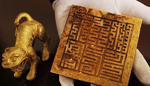 Descubren un tesoro del siglo XVII hundido en el río chino Min