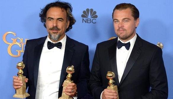 González Iñárritu triunfa en los Globos de Oro y gana fuerza para los Oscar