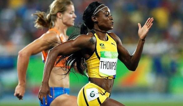 Elaine Thompson reduce a Schippers y completa el doblete de la velocidad