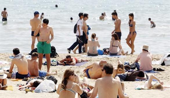 Bajan las temperaturas en el área mediterránea y suben en Galicia