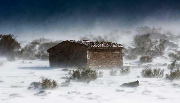 Fin de semana con nieve en cotas bajas y heladas generalizadas