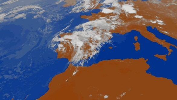 Tormentas y lluvias marcan el final de la semana en casi toda España