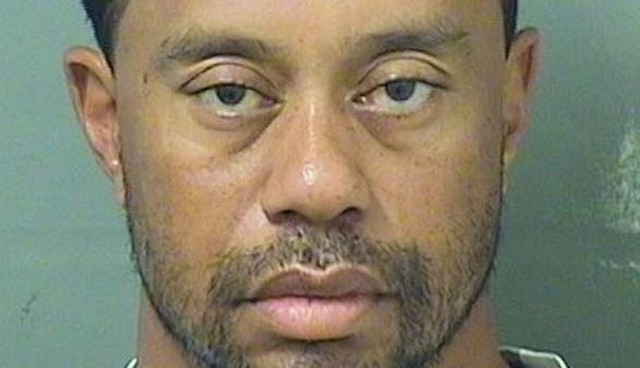 Tiger Woods, detenido por conducir bajo la influencia de sustancias tóxicas