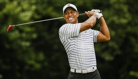 PGA. Tiger Woods regresa al golf a buen nivel y con la compañía de Rafa Nadal