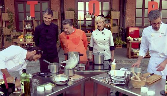 Top Chef enciende los fogones y se le atraganta a Bertín