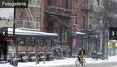Imágenes del peor temporal de nieve del año en Estados Unidos