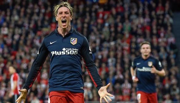 Torres mantiene al Atlético en la lucha  0-1