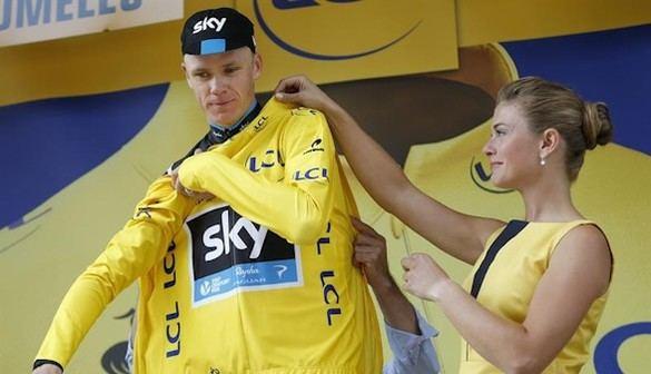 Tour de Francia: Golpe de autoridad de Froome en la primera etapa de montaña
