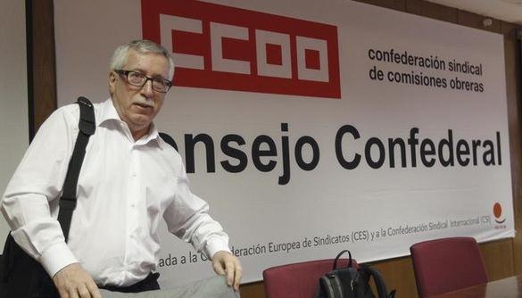 Toxo renuncia a liderar CCOO y Unai Sordo se perfila para sucederle