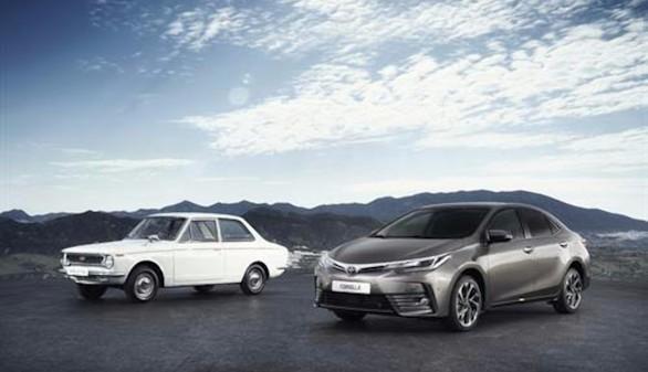 Cincuenta años del Toyota Corolla