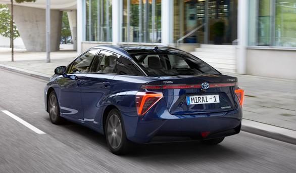 Toyota Mirai: motor eléctrico con autonomía de unos 600 kilómetros