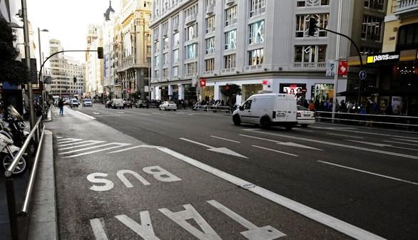 Al centro de Madrid, sin coche en 2018