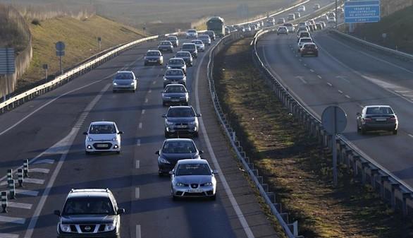 Normalidad en las carreteras durante el cierre de la operación Navidad