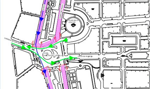 Así afectará al tráfico el nuevo Paseo del Prado peatonal de Carmena