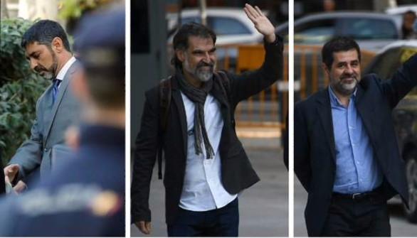 La AN pide un informe de llamadas de Cuixart, Trapero y Sànchez