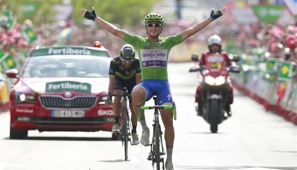 La Vuelta. El italiano Trentin logra doblete en Alhama de Murcia