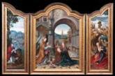 Joos van Cleve (Van der Beke). Tríptico de la Anunciación. Catedral de Santo Domingo de la Calzada. (La Rioja)