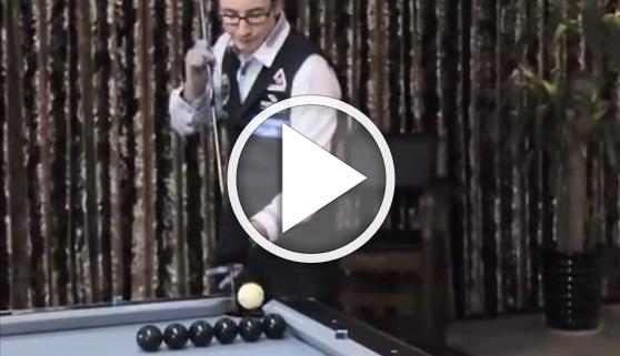 Vídeos virales. Increíbles trucos de billar