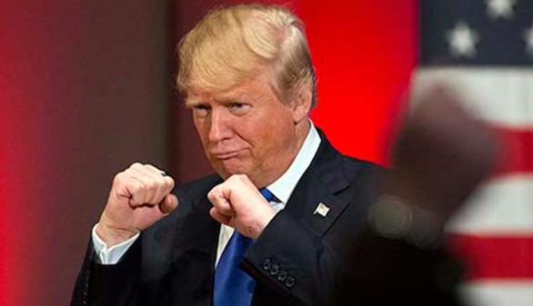 Trump se enzarza con un sindicalista a cuenta de la deslocalización