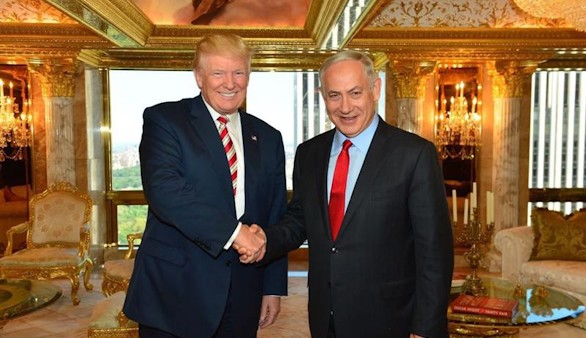 Trump tranquiliza el enfado de Netanyahu: