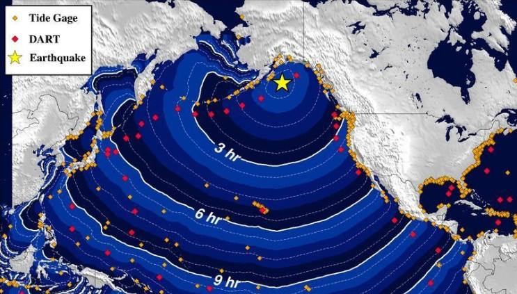 Cancelada la alerta de tsunami en Alaska tras un terremoto de 7,9 grados