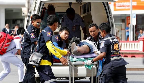 Una cadena de atentados en Tailandia deja al menos cuatro muertos
