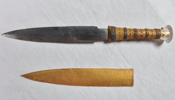 La daga de Tutankamon que llegó del espacio exterior