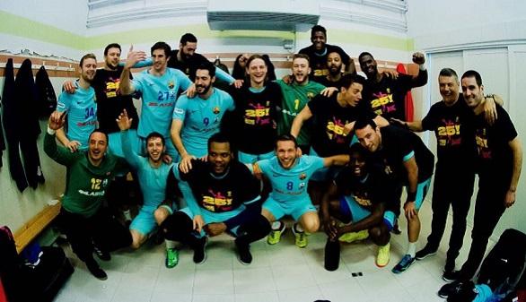 ASOBAL. El Barcelona conquista su octava Liga consecutiva