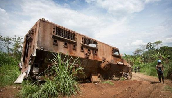 La ONU llora el ataque sufrido más mortífero de su historia reciente y el Congo se venga