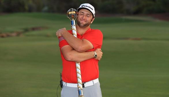 Golf. Jon Rahm, 'Novato del Año', triunfa también en Dubai