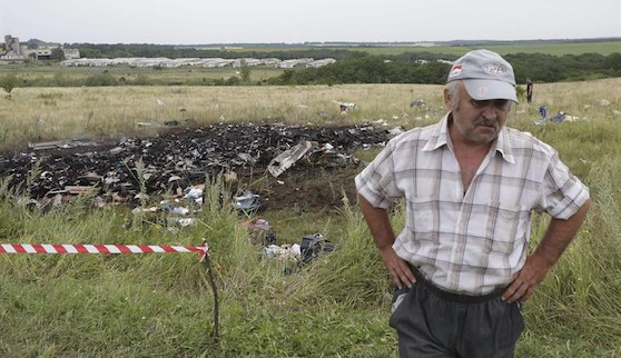Tragedia del MH17:los primeros indicios apuntan a que el avión fue derribado por los rebeldes prorrusos