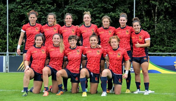 La selección femenina completa el pleno de rugby 7 en Río