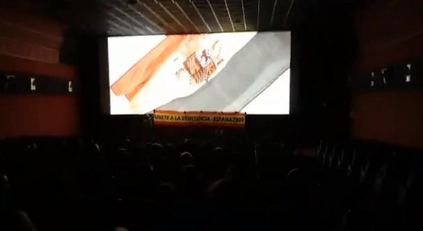 Ultras de España 2000 boicotean la película de Amenábar al grito de