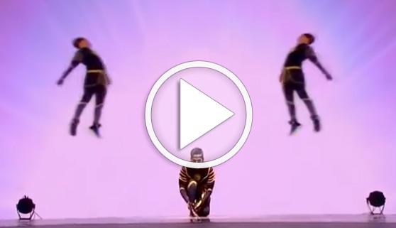 Vídeos virales. Un baile sorprendente a varios niveles