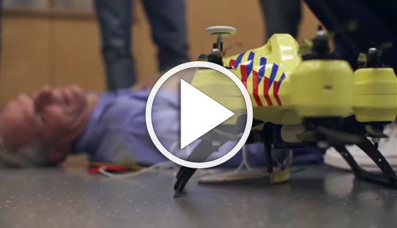 Vídeos virales. Un dron capaz de salvar vidas