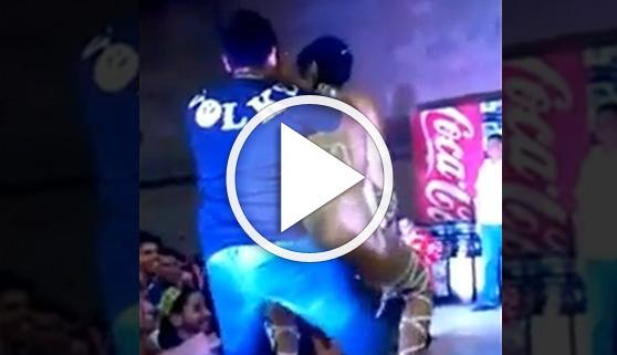 Vídeos virales. Un sensual baile con sorpresa final