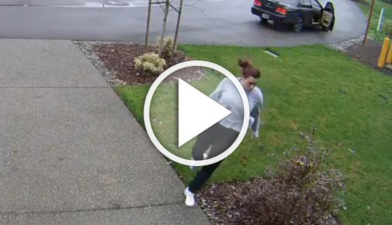 Vídeos virales. Una ladrona con muy, pero muy mala pata