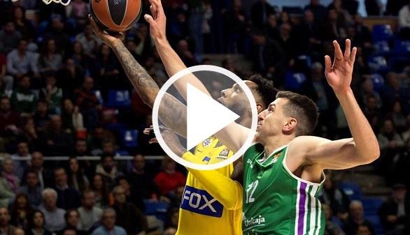 Euroliga. Unicaja domestica al Maccabi para sobrevivir | 83-69
