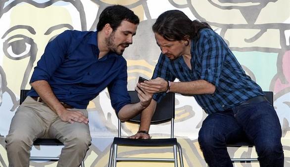 Unidos Podemos ya se define como el voto útil de la izquierda