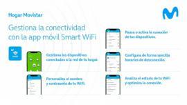 Movistar incorpora el control parental de la red WiFi en su app móvil Smart WiFi