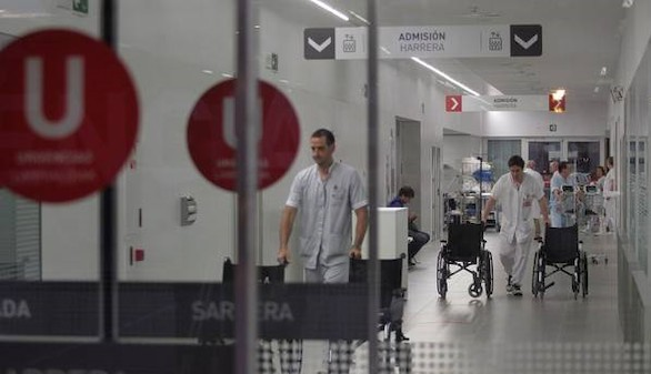 La epidemia de gripe colapsa los hospitales