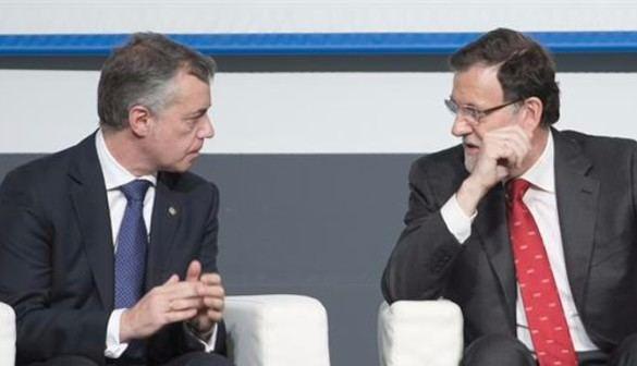 Mientras Rajoy pide unidad frente a Eta, Urkullu reclama una nueva política de Estado